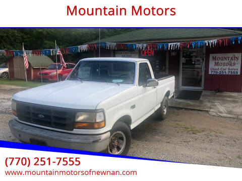 1993 Ford F-150 for sale at Mountain Motors in Newnan GA