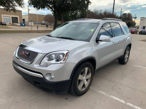 2012 GMC Acadia for sale at Sima Auto Sales in Dallas TX
