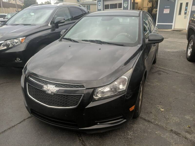 2014 Chevrolet Cruze for sale at Richland Motors in Cleveland OH