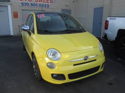 2012 FIAT 500 for sale at Small Town Auto Sales in Hazleton PA
