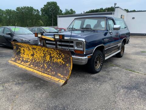 1990 Dodge Ramcharger for sale at HIGHLINE AUTO LLC in Kenosha WI