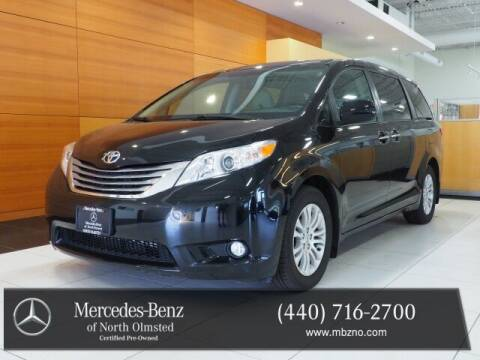 2017 Toyota Sienna for sale at Mercedes-Benz of North Olmsted in North Olmstead OH