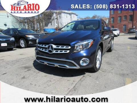2018 Mercedes-Benz GLA for sale at Hilario's Auto Sales in Worcester MA