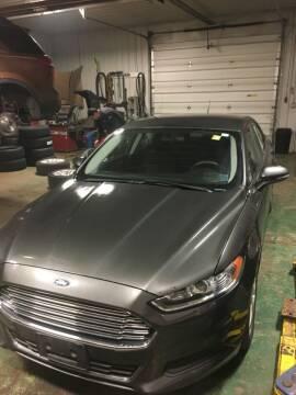 2015 Ford Fusion for sale at Hamburg Motors in Hamburg NY