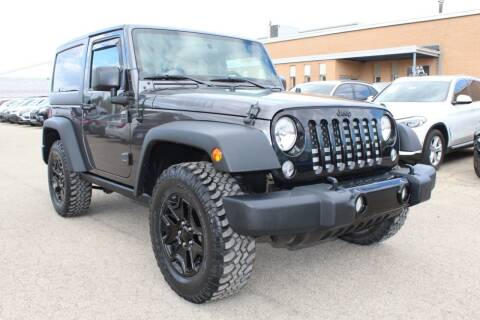 2014 Jeep Wrangler for sale at SHAFER AUTO GROUP in Columbus OH