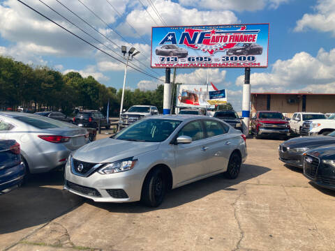 2018 Nissan Sentra for sale at ANF AUTO FINANCE in Houston TX