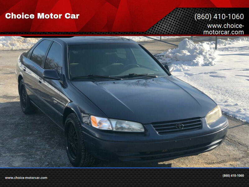 1998 Toyota Camry for sale at Choice Motor Car in Plainville CT