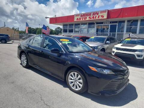 2020 Toyota Camry for sale at Modern Auto Sales in Hollywood FL
