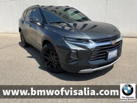 2020 Chevrolet Blazer for sale at BMW OF VISALIA in Visalia CA