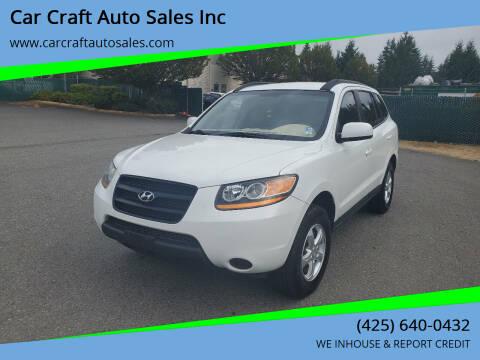 2008 Hyundai Santa Fe for sale at Car Craft Auto Sales Inc in Lynnwood WA