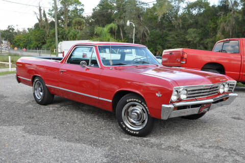 1967 Chevrolet El Camino for sale at Elite Motorcar, LLC in Deland FL