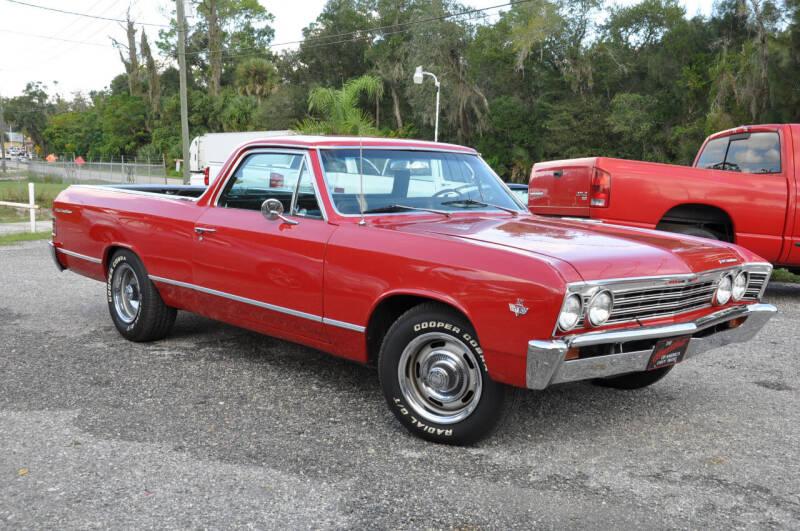 1967 Chevrolet El Camino for sale at Elite Motorcar, LLC in Deland FL