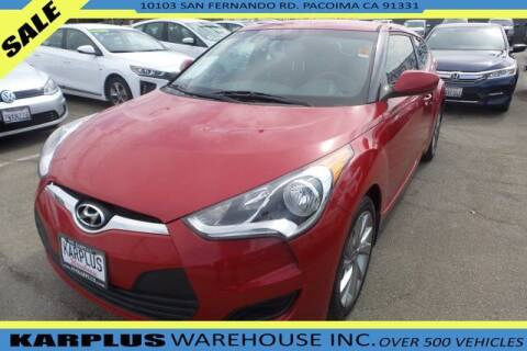 2016 Hyundai Veloster for sale at Karplus Warehouse in Pacoima CA