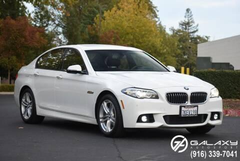 2015 BMW 5 Series for sale at Galaxy Autosport in Sacramento CA
