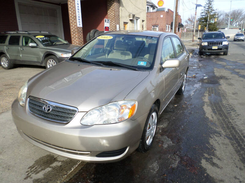 2007 Toyota Corolla for sale at Associated Sales & Leasing, Inc. in Perth Amboy NJ