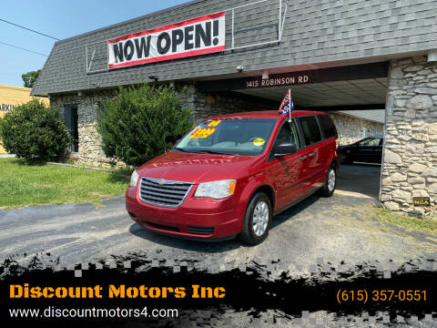2008 Chrysler Town and Country for sale at Discount Motors Inc in Old Hickory TN
