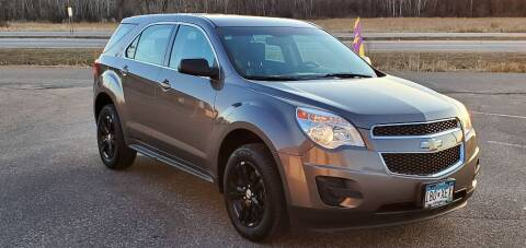 2010 Chevrolet Equinox for sale at Transmart Autos in Zimmerman MN