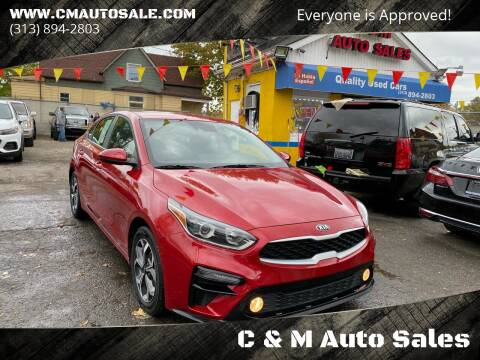 2019 Kia Forte for sale at C & M Auto Sales in Detroit MI