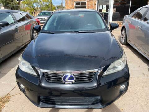 2012 Lexus CT 200h for sale at PYRAMID MOTORS AUTO SALES in Florence CO