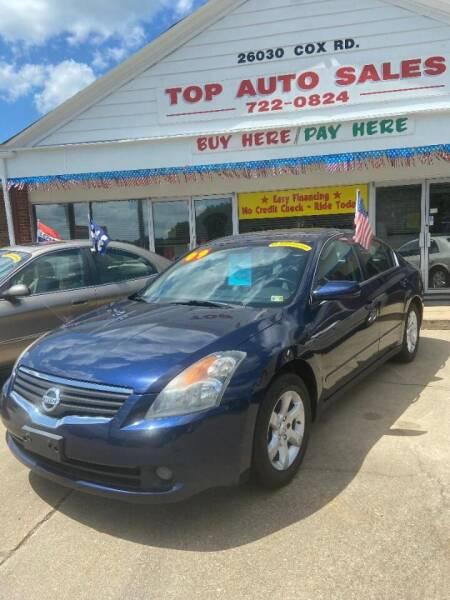 2009 Nissan Altima for sale at Top Auto Sales in Petersburg VA