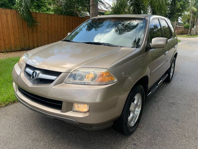 2006 Acura MDX for sale at FINANCIAL CLAIMS & SERVICING INC in Hollywood FL