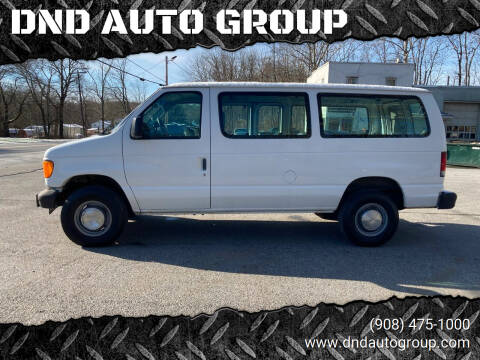 2005 Ford E-Series Cargo for sale at DND AUTO GROUP in Belvidere NJ