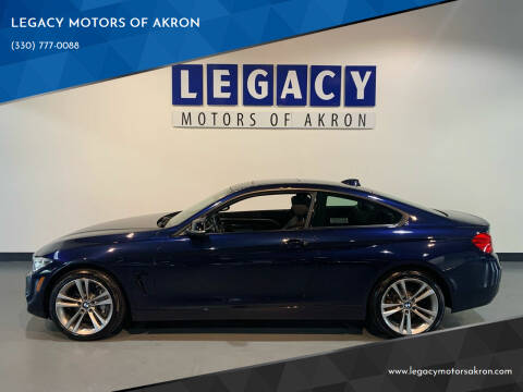 2014 BMW 4 Series for sale at LEGACY MOTORS OF AKRON in Akron OH