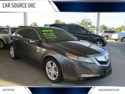 2010 Acura TL for sale at CAR SOURCE OKC - CAR ONE in Oklahoma City OK