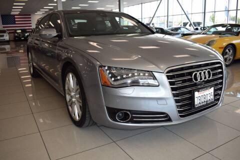 2014 Audi A8 L for sale at Legend Auto in Sacramento CA