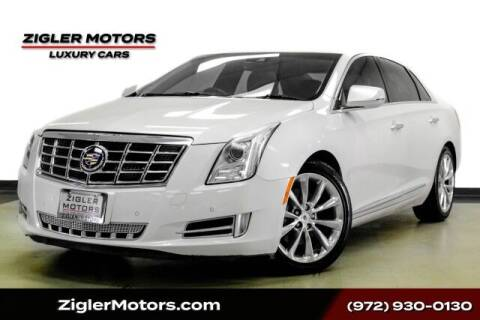 2013 Cadillac XTS for sale at Zigler Motors in Addison TX