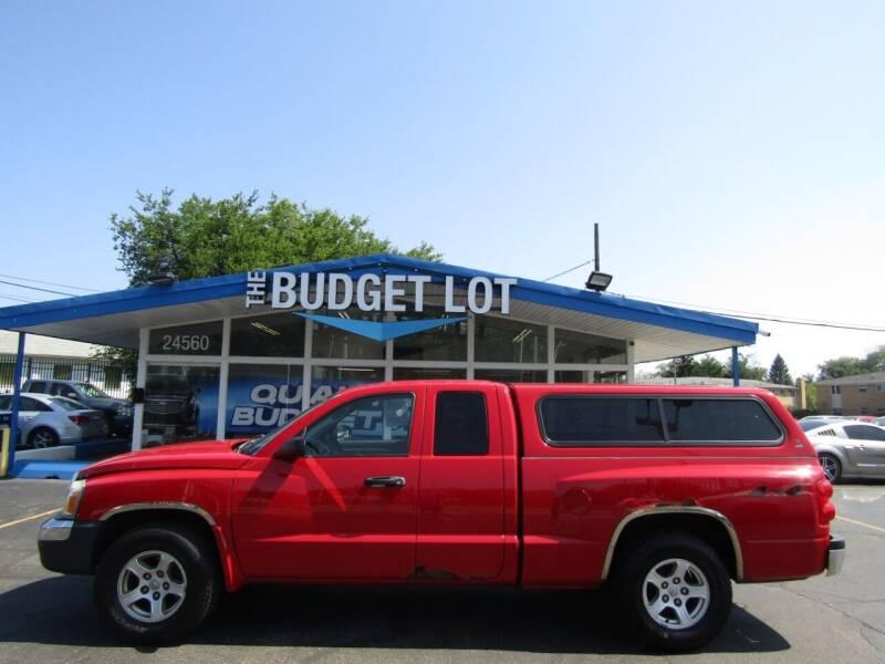 2005 Dodge Dakota for sale at THE BUDGET LOT in Detroit MI
