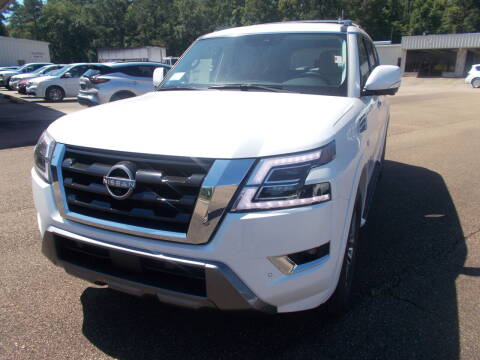 2021 Nissan Armada for sale at Howell Buick GMC Nissan - New Nissan in Summit MS