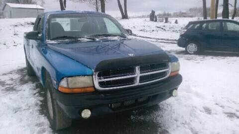 1999 Dodge Dakota for sale at Seneca Motors, Inc. (Seneca PA) - MEADVILLE, PA LOCATION in Conneaut Lake PA