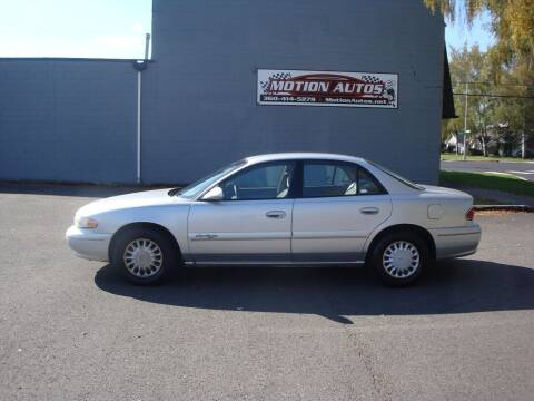 2002 Buick Century for sale at Motion Autos in Longview WA