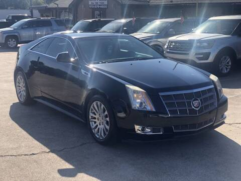2011 Cadillac CTS for sale at Safeen Motors in Garland TX