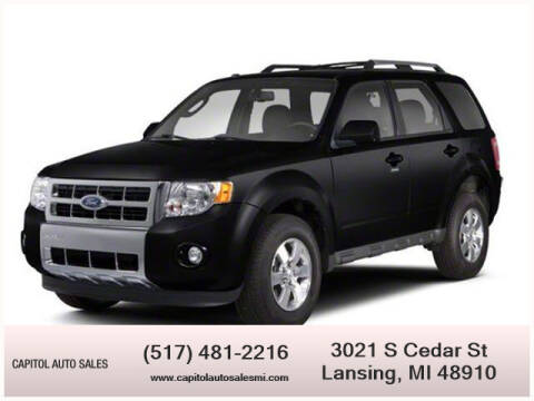2012 Ford Escape for sale at Capitol Auto Sales in Lansing MI