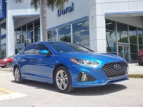 2019 Hyundai Sonata for sale at DORAL HYUNDAI in Doral FL