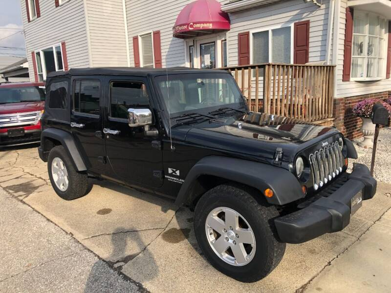 2008 Jeep Wrangler Unlimited for sale at Kramer Motor Co INC in Shelbyville IN