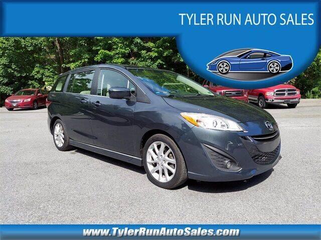 2012 Mazda MAZDA5 for sale at Tyler Run Auto Sales in York PA