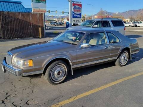 1986 Lincoln Mark VII for sale at Classic Car Deals in Cadillac MI