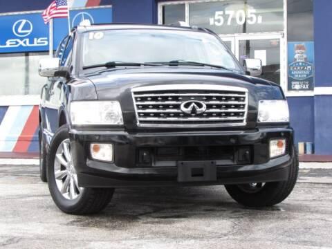 2010 Infiniti QX56 for sale at VIP AUTO ENTERPRISE INC. in Orlando FL