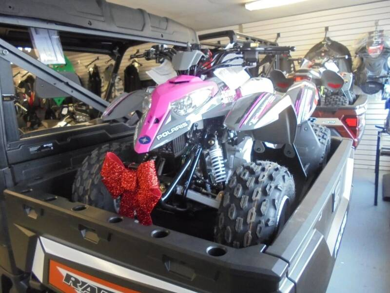 2019 Polaris Outlaw 50 for sale at CYCLE SHACK CARS in Rome NY