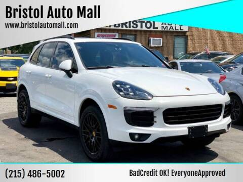 2017 Porsche Cayenne for sale at Bristol Auto Mall in Levittown PA