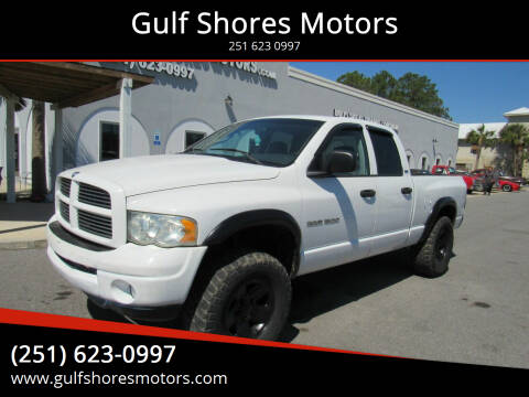2002 Dodge Ram Pickup 1500 for sale at Gulf Shores Motors in Gulf Shores AL