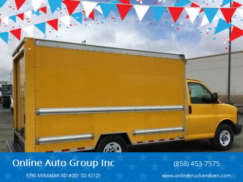 2015 GMC Savana Cutaway for sale at Online Auto Group Inc in San Diego CA