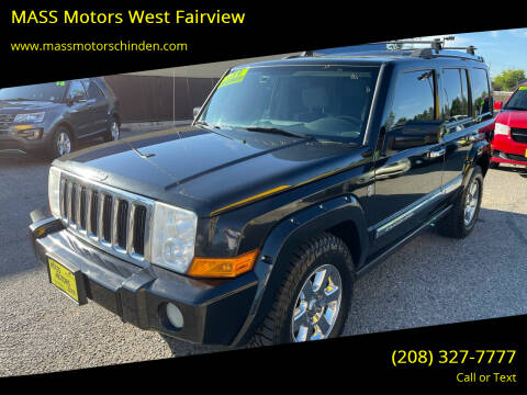 2008 Jeep Commander for sale at MASS Motors West Fairview in Boise ID