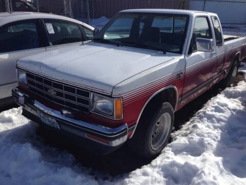 1986 Chevrolet S-10 for sale at Cherry Motors in Castle Rock CO