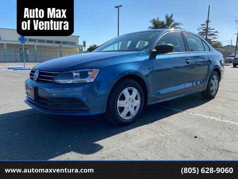 2016 Volkswagen Jetta for sale at Auto Max of Ventura in Ventura CA
