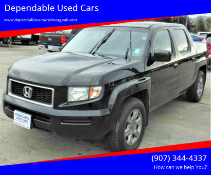 2007 Honda Ridgeline for sale at Dependable Used Cars in Anchorage AK