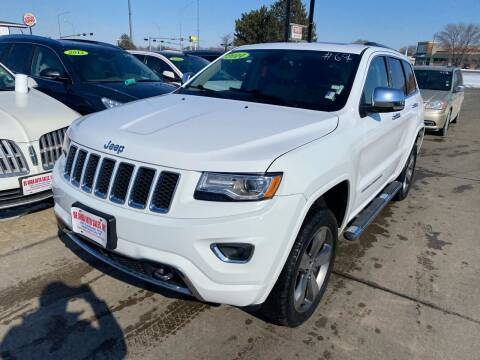 2014 Jeep Grand Cherokee for sale at De Anda Auto Sales in South Sioux City NE